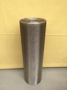 Svařované nerezové pletivo 10 x 10 / 1 mm