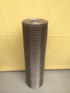 Svařované nerezové pletivo 16 x 16 / 1,20 mm