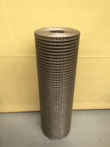Svařované nerezové pletivo 20 x 20 / 1 mm