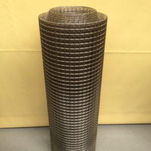 Svařované nerezové pletivo 20 x 20 / 2 mm
