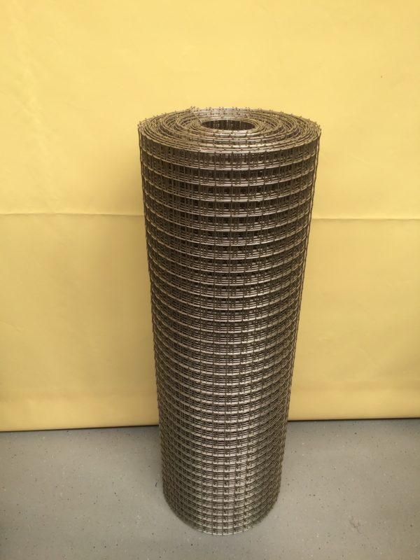 Svařované nerezové pletivo 25 x 25 / 2 mm